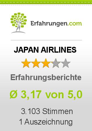 JAPAN AIRLINES Erfahrungen