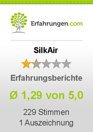 SilkAir Erfahrungen