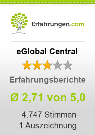 eGlobal Central Bewertungen