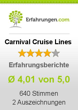 Carnival Cruise Lines Erfahrungen