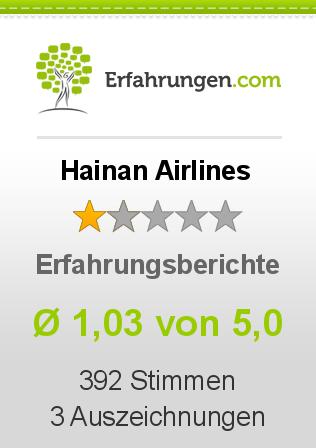 Hainan Airlines Erfahrungen