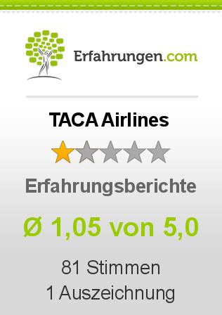 TACA Airlines Erfahrungen