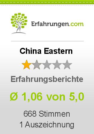 China Eastern Erfahrungen