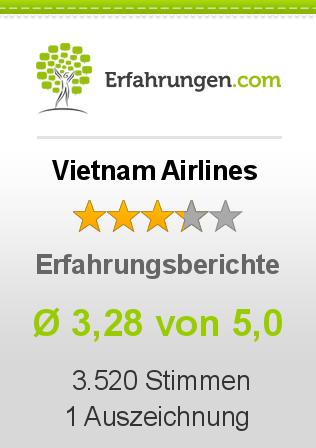 Vietnam Airlines Erfahrungen