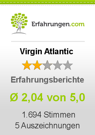 Virgin Atlantic Erfahrungen
