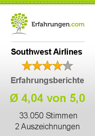 Southwest Airlines Bewertungen