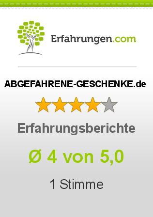 ABGEFAHRENE-GESCHENKE.de Erfahrungen