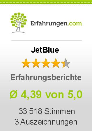 JetBlue Erfahrungen