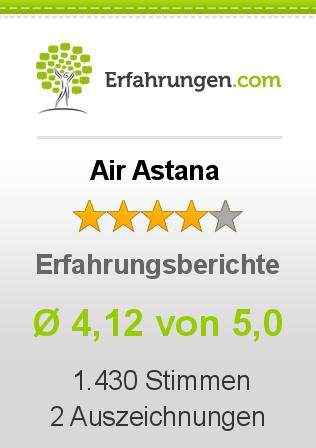 Air Astana Erfahrungen