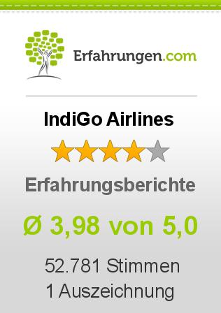 IndiGo Airlines Erfahrungen