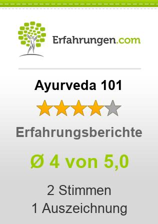 Ayurveda 101 Erfahrungen