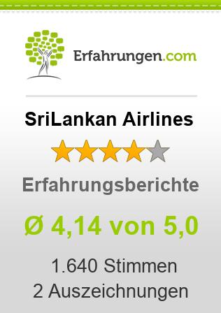 SriLankan Airlines Erfahrungen