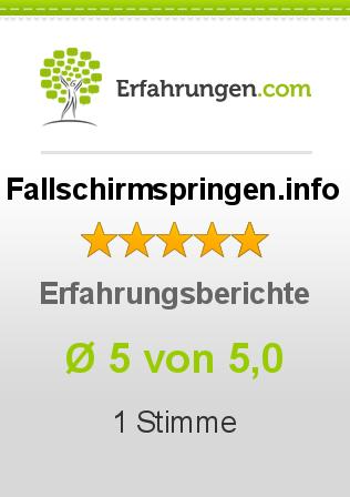 Fallschirmspringen.info Erfahrungen