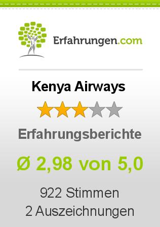 Kenya Airways Erfahrungen
