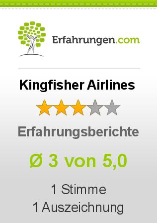 Kingfisher Airlines Erfahrungen
