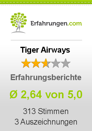 Tiger Airways Erfahrungen