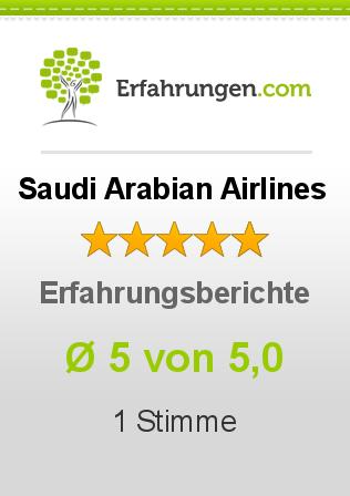 Saudi Arabian Airlines Erfahrungen