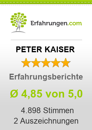 PETER KAISER Erfahrungen