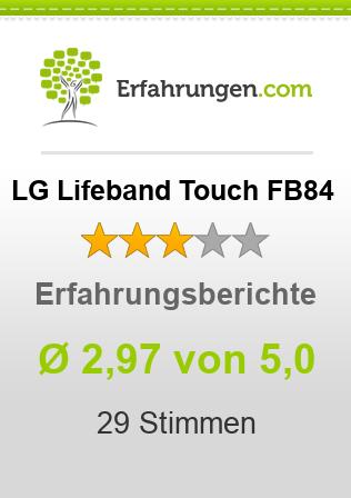 LG Lifeband Touch FB84 Erfahrungen