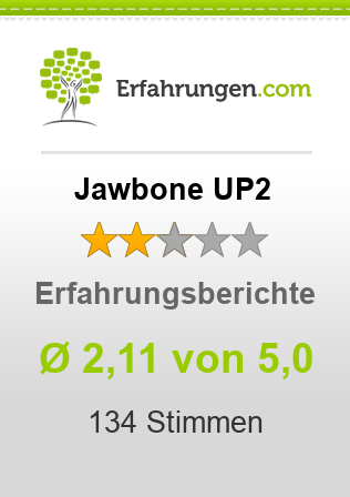 Jawbone UP2 Bewertungen