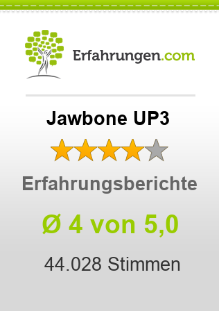 Jawbone UP3 Bewertungen