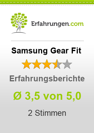 Samsung Gear Fit Bewertungen