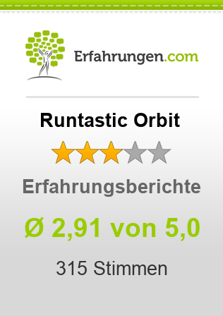 Runtastic Orbit Bewertungen