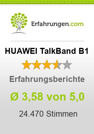 HUAWEI TalkBand B1 Erfahrungen