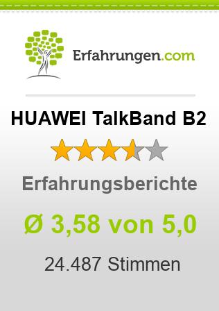 HUAWEI TalkBand B2 Erfahrungen