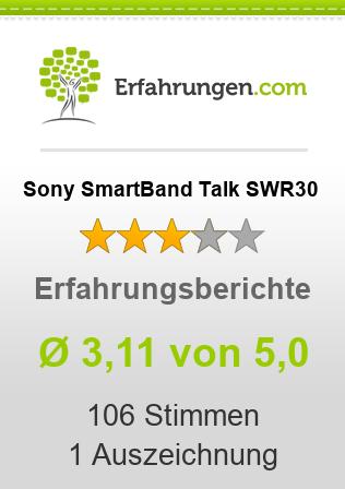Sony SmartBand Talk SWR30 Erfahrungen