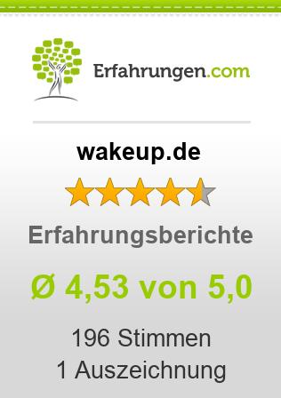 wakeup.de Erfahrungen