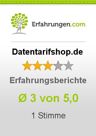 Datentarifshop.de Erfahrungen
