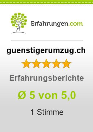 guenstigerumzug.ch Erfahrungen