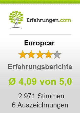 Europcar Erfahrungen