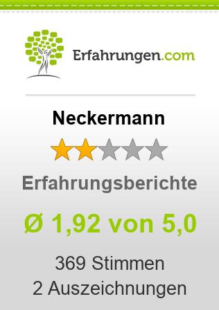 Neckermann Erfahrungen