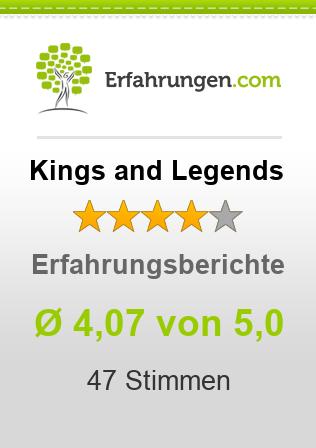 Kings and Legends Erfahrungen