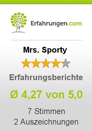 Mrs. Sporty Erfahrungen