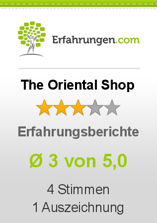 The Oriental Shop Bewertungen