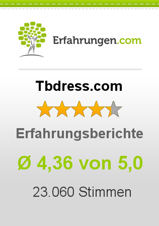 Tbdress.com Bewertungen