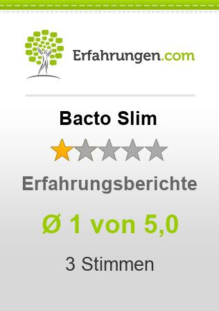 Bacto Slim Erfahrungen