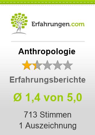 Anthropologie Erfahrungen