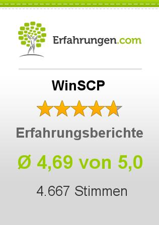 WinSCP Erfahrungen