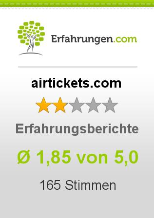 airtickets.com Erfahrungen