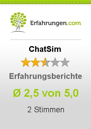 ChatSim Erfahrungen